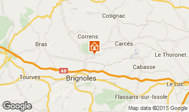 Mappa Brignoles Villa  83714