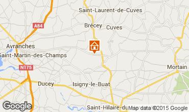Mappa Mont Saint Michel Agriturismo 68684