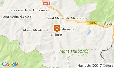 Mappa Valloire Appartamento 3411