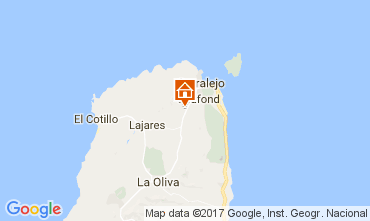 Mappa Corralejo Villa  31314
