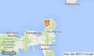 Mappa Rio nell'Elba Appartamento 97284