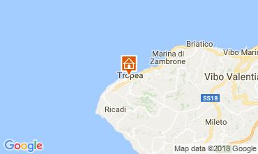 Mappa Tropea Appartamento 113233