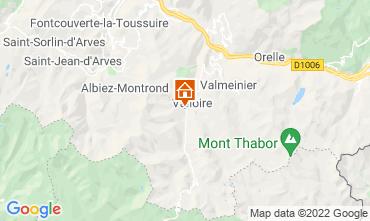Mappa Valloire Appartamento 3413