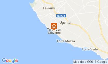 Mappa Ugento - Torre San Giovanni Appartamento 108671