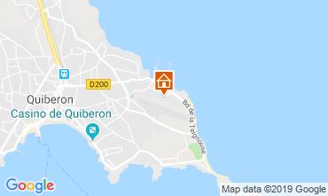 Mappa Quiberon Appartamento 118066