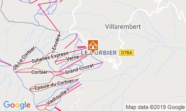 Mappa Le Corbier Monolocale 119307