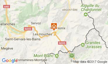 Mappa Chamonix Mont-Blanc (Monte Bianco) Appartamento 647