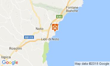 Mappa Noto Villa  112756