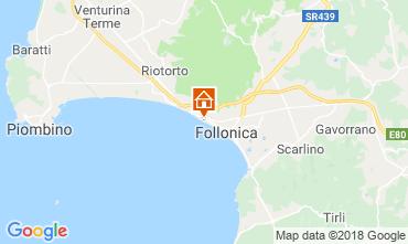 Mappa Follonica Appartamento 116727