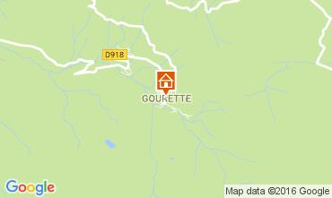 Mappa Gourette Monolocale 106810