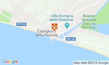 Mappa Castiglione della Pescaia Appartamento 70000