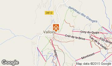 Mappa Valloire Appartamento 63867