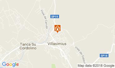 Mappa Villasimius Appartamento 114820