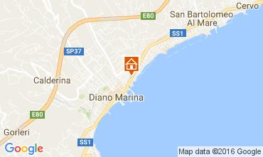 Mappa Diano Marina Appartamento 106973