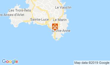 Mappa Sainte Anne (Martinique) Appartamento 60946