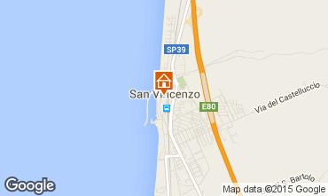 Mappa San Vincenzo Appartamento 68528