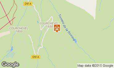 Mappa Courchevel Appartamento 73734