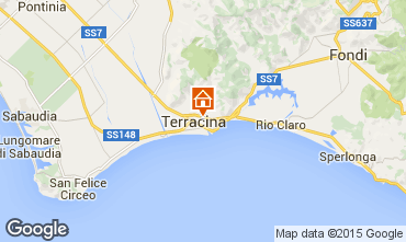 Mappa Terracina Appartamento 87952