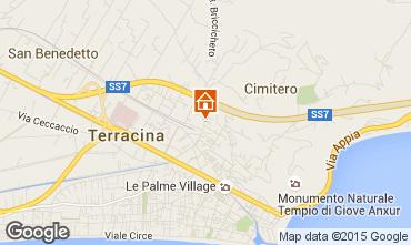 Mappa Terracina Appartamento 87952