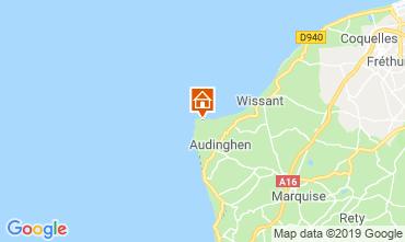 Mappa Audinghen Villa  102925