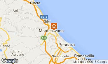 Mappa Montesilvano Marina Appartamento 93317