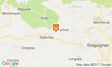 Mappa Draguignan Villa  96025
