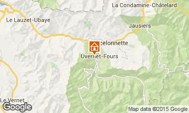Mappa Pra Loup Chalet 41298
