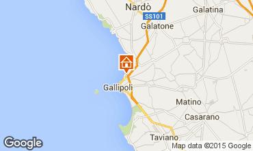 Mappa Gallipoli Monolocale 87224