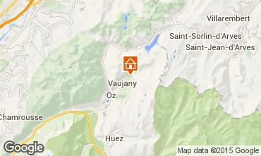 Mappa Vaujany Appartamento 53719