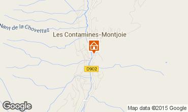 Mappa Les Contamines Montjoie Appartamento 90508