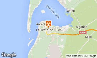 Mappa Arcachon Casa 29897