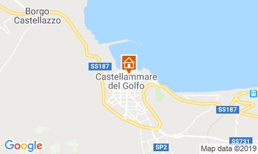 Mappa Castellammare del Golfo Appartamento 77385
