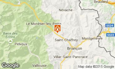 Mappa Serre Chevalier Appartamento 58839