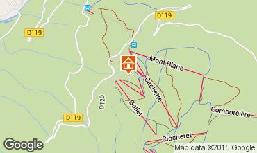 Mappa Les Arcs Chalet 320