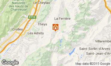 Mappa Les Sept Laux Monolocale 48702
