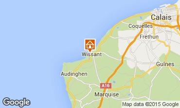 Mappa Wissant Appartamento 67786