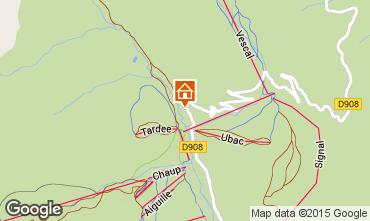 Mappa Val d'Allos Appartamento 31691