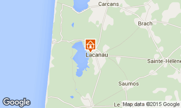 Mappa Lacanau Casa 44203