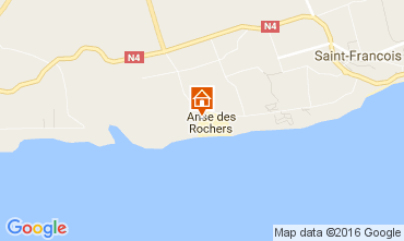 Mappa Saint Francois Monolocale 73904