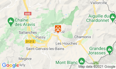 Mappa Chamonix Mont-Blanc (Monte Bianco) Monolocale 93266