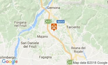 Mappa Udine Casa 84288