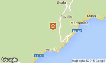 Mappa Ravello Casa 85828