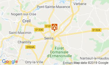 Mappa Aiguines Casa mobile 58192