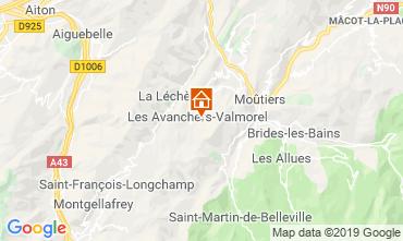 Mappa Valmorel Appartamento 44255