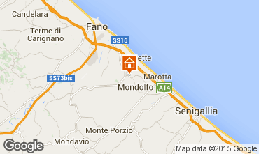 Mappa Pesaro Appartamento 67543