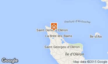 Mappa Saint Denis d'Oléron Villa  74637