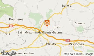Mappa Saint Maximin la Sainte Baume B&B insolito 98252