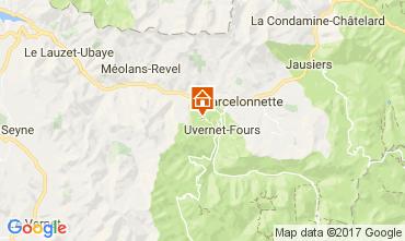 Mappa Pra Loup Appartamento 109439