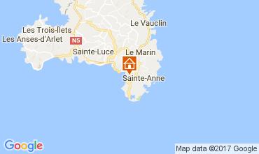 Mappa Sainte Anne (Martinique) Bungalow 110816
