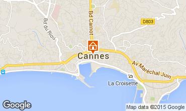 Mappa Cannes Appartamento 17381